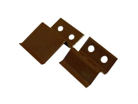 Верхнее крепление для москитной сетки коричневое