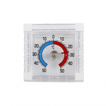 Термометр оконный Биметалический квадрат в п\п