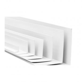 Уголок пвх 10*10 мм белый 3,0м